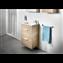 Pack mueble roble 60cm compacto 2 cajones Debba Roca