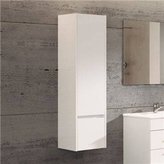Mueble columna blanco brillo TEGLER