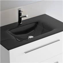 Lavabo de cristal negro IBERIA SALGAR