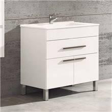 Mueble con lavabo Blanco brillo Bahía TEGLER