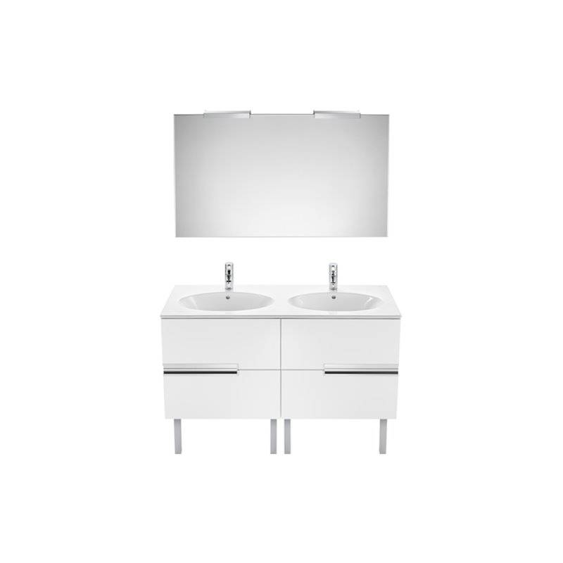 Mueble pack oval blanco 120cm victoria n roca a851225806 for Mueble roca victoria n