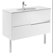 Mueble Unik OVAL blanco 100cm Victoria-N Roca