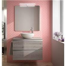 Mueble 81cm y lavabo de posar SPIRIT SALGAR