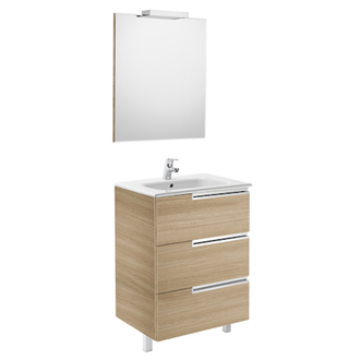 Mueble Pack Family roble 70cm Victoria-N Roca
