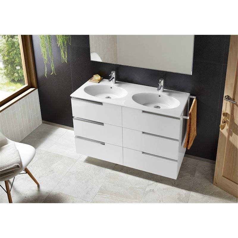 Mueble pack family blanco 120cm victoria n roca a855845806 for Mueble roca victoria n