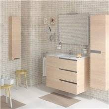 Mueble Pack Family OVAL roble 80cm Victoria-N Roca