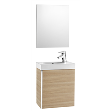 Mueble roble con espejo Mini Roca