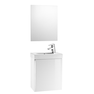 Mueble blanco con espejo Mini Roca