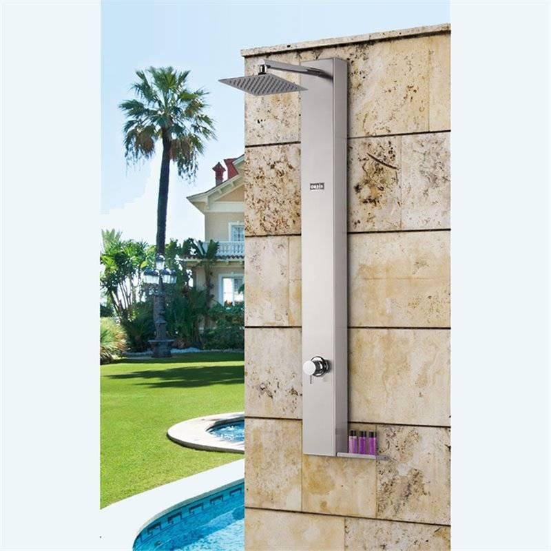 Ducha de jardin ducha de jardin ducha de jardin ducha for Duchas para piscinas exterior