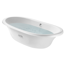 Bañera oval en blanco Newcast ROCA
