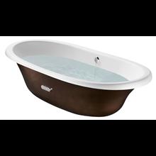 Bañera oval cobre Newcast ROCA
