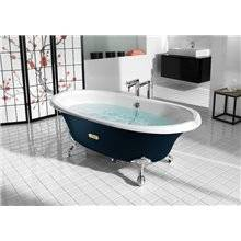 Bañera oval azul marino Newcast ROCA