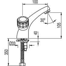 Grifo de lavabo Bimando ESE-23 TRES