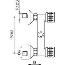 Kit de ducha ESE-23 TRES