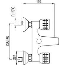 Kit de bañera-ducha ESE-23 TRES
