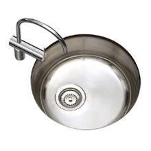 Fregadero de cocina de 1 seno redondo Timblau