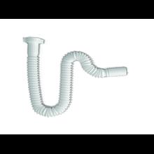 Sifón flexible para lavamanos