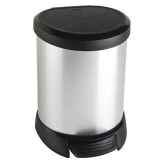 Papelera pedal ABS metalizado 20L Timblau