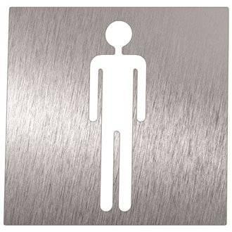 Señal hombre para baños Timblau