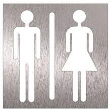 Señal unisex para baños Timblau