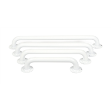 Barra de apoyo fija pintada blanco