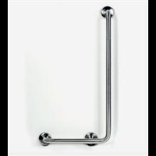 Barra de apoyo para ducha 90º satinado TIMBLAU