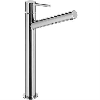 Grifo de lavabo Max-Tres caño largo con maneta