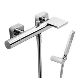Grifo de ducha y bañera Loft-Tres