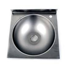 Lavabo acero inox de seno circular Timblau