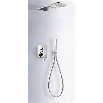 Kit de ducha MONO-TERM empotrado Tres INOX