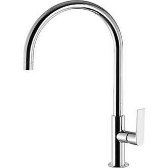 Grifo de lavabo Loft-Tres 41,8cm x 23,2cm con maneta ECO