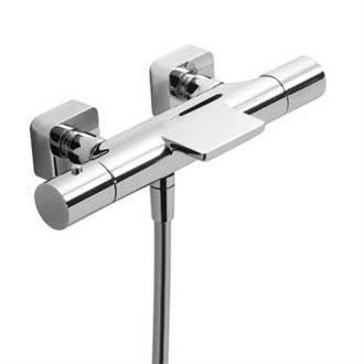 Grifo de bañera-ducha termostática ECO Loft-Tres