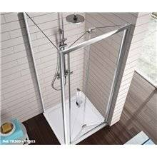 Mampara puerta plegable para ducha TR300 Kassandra