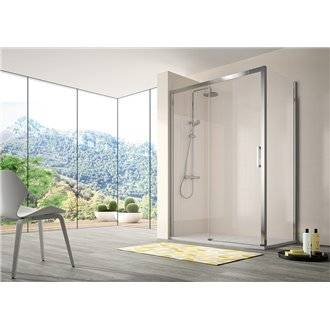 Mampara puerta corredera para ducha CU607 Kassandra