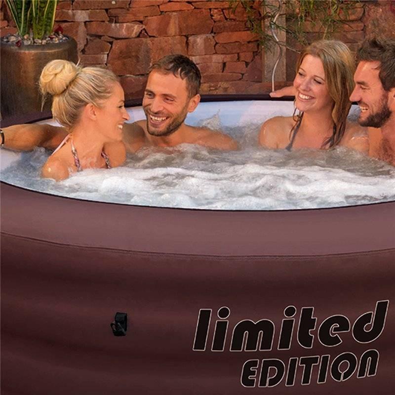Spa hinchable bestway lay z spa limited edition for Piscinas portatiles cuadradas