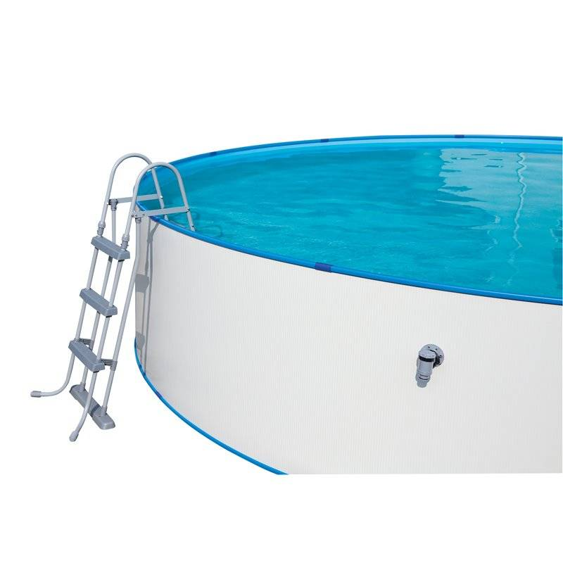 Piscina desmontable de acero 488x107 549x120 cm bestway for Piscina desmontable acero