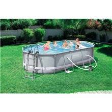 Piscina desmontable oval 488x305x107 cm Power...