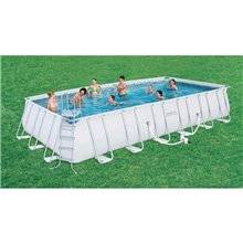Piscina desmontable rectangular 732x366x132 cm...