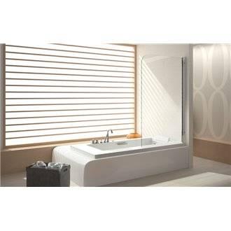 Mampara bañera panel abatible TR570 Kassandra