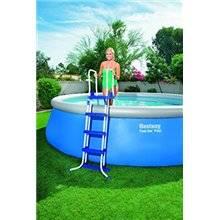 Liner azul para piscina de chapa rectangular 40/100 Bestway
