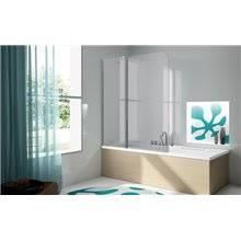 Mampara bañera panel fijo + puerta abatible TR563 Kassandra