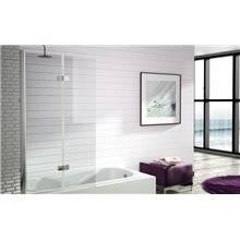 Mampara bañera puerta plegable y abatible TR573 Kassandra