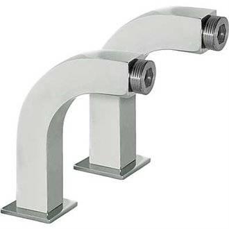 Codo adaptador baño-ducha cuadrado