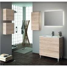 Mueble 81cm Natural 3 cajones SALGAR FUSSION LINE