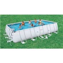 Piscina desmontable rectangular 26845 litros Power Steel Bestway