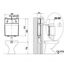 Cisterna WALLFIT