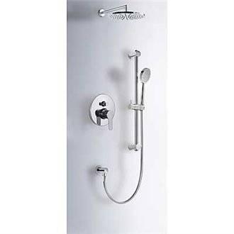 Kit de ducha monomando empotrado BM-TRES barra deslizante