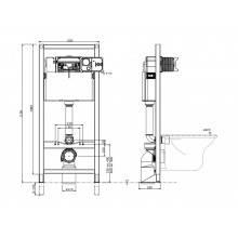 Cisterna QUADRO con soporte