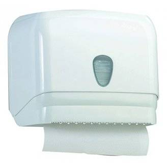 Dispensador de papel toalla ABS blanco NOFER
