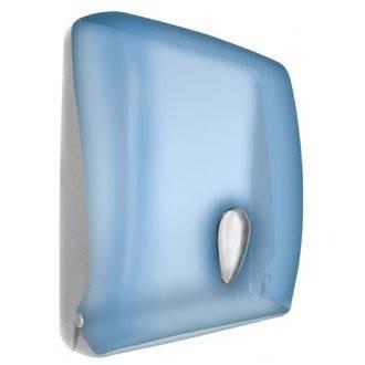 Dispensador de papel toalla de ABS azul NOFER